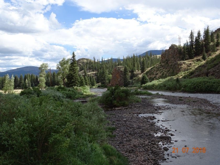Rio Grande below Creede